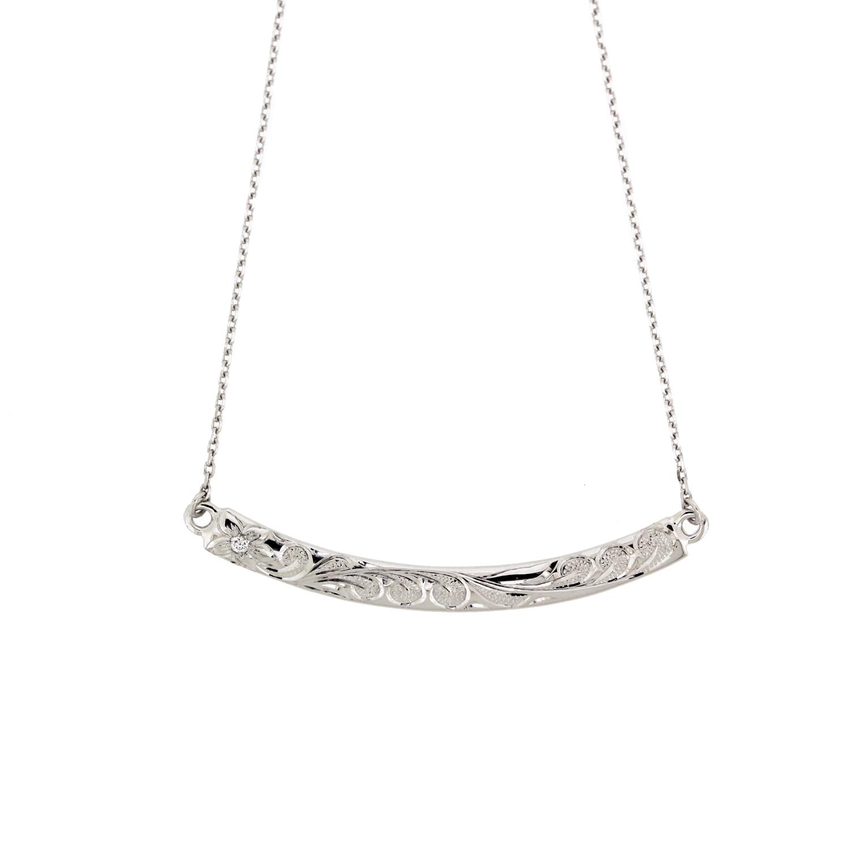 ハナレイダイヤ プラチナ950 ネックレス