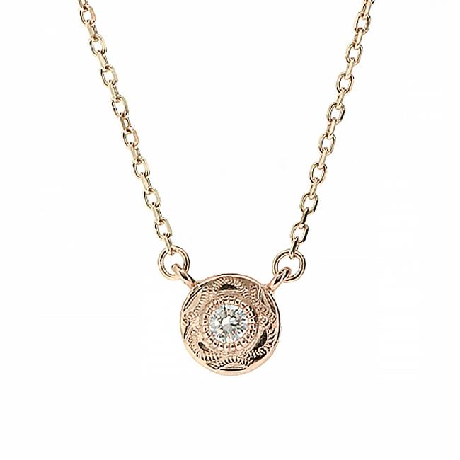 [K10PG/ダイヤモンド] カイマナポエポエ ネックレス