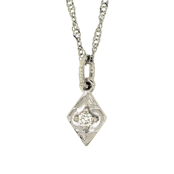 カイマナロゼンジ ダイヤモンド プラチナ950 ペンダントヘッド